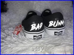Bad Bunny Custom Vans