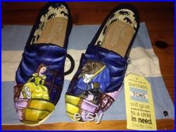 Beauty and The Beast Toms Shoes