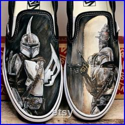 Build Your Own Star Wars Vans Custom Painted