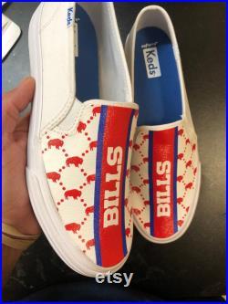 Custom Buffalo bills mafia vans