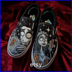 Custom Corpse Bride X Blackcanvasgirl Vans