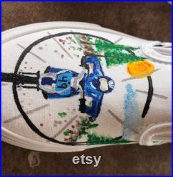 Custom Dirt Bike Racing Shoes