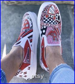 Custom Harvard University Sneakers