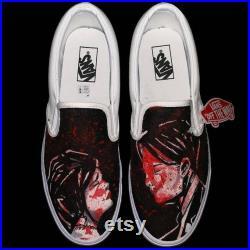 Custom My Chemical Romance Vans slip on Three Cheers For Sweet Revenge