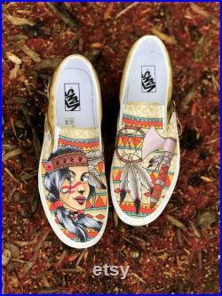 Custom Native Vans Slip-On