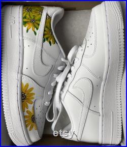 Custom Nike Air Force 1 X Sunflower