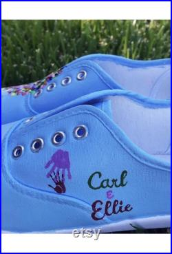 Custom Painted Disney Character Shoes