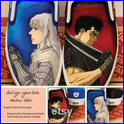 Custom Painted Vans Design Your Own Anime Shoe