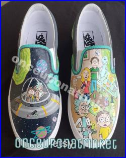 Custom Painted canvas shoes
