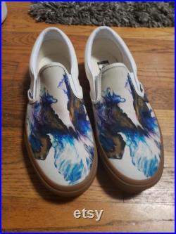 Custom Vans Slip-Ons