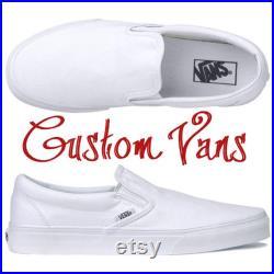 Custom Vans for Diane Carswell