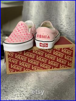 Custom made LV Vans Sneakers