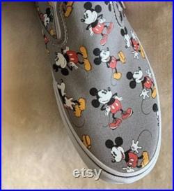 Custom order Tiny Mickey Vans W8.5 for Kelly