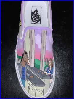 Custom shoes Bojack horseman