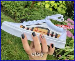 Custom vans sneakers
