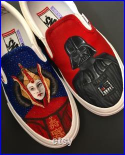 Darth Vader and Queen Amidala Vans
