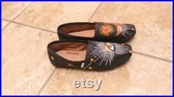 Designer Inspired Request Evil Eye Starburst Glitter (Shoes are not included )