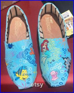 Disney Dooney and Bourke Inspired Custom TOMS