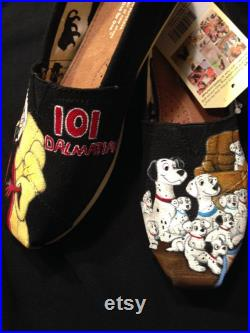 Disney's 101 Dalmatian Custom Shoes, Vans