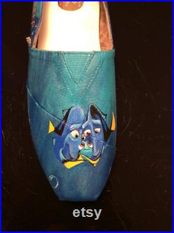 Finding Dory Custom Painted Toms