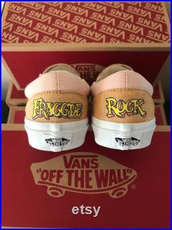 Fraggle Rock Custom Vans ADULT