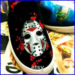 Friday the 13th JASON VOORHEES inspired shoes