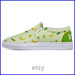 Green Go Vegan Custom Slip-On Shoes