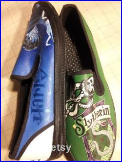 Hand Painted Harry Potter Cover Shoes