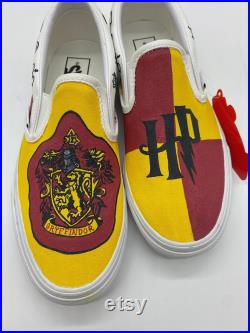 Hand-Painted Harry Potter House Vans