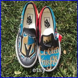 Hand Painted Skate Shoe Vans Customized