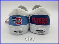 Hand Painted University of Dayton Flyers Vans