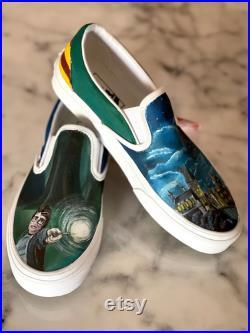Harry Potter Custom Vans