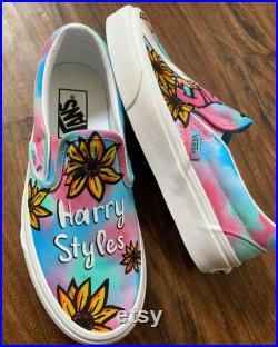 Harry Styles Custom Vans