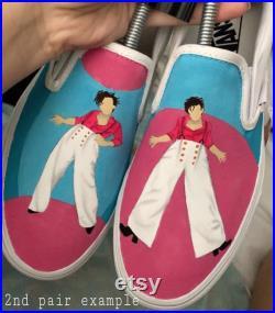 Harry Styles Inspired Custom Vans