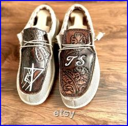 Hey Dude Shoes Customized with your own design
