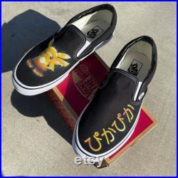 I Choose You Custom Vans Slip On Sneakers, Custom Vans, Vans Slip Ons, Slip On Vans Custom , Vans Custom , Custom Vans Shoes