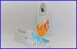 Ice and fire Shoto Todoroki VANS.