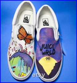 Juice WRLD inspired Vans