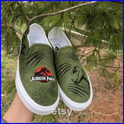 Jurassic park vans
