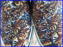 Kenzo Flying Tiger Slip On Sneakers