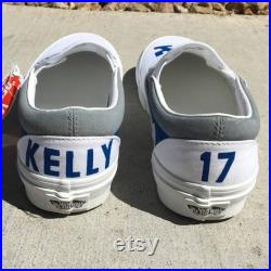 LA Dodgers custom painted VANS (Adult)