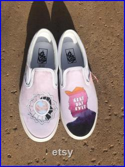 Mac Miller Divine Feminine x Best Day Ever Custom Vans