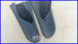Made to Order Custom-fitted Leather Moccasins Heart Style Handmade Barefoot Shoes Softs-Sole Unisex size 34-37 EU 4-7 US