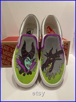 Maleficent Custom Vans