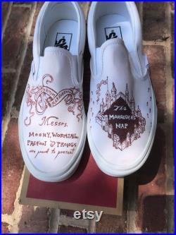 Marauder's Map Vans Shoes