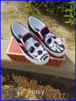 Michael Myers, Jason, Chucky, and Pennywise Vans