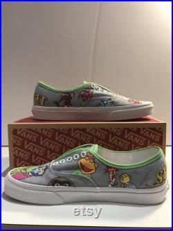 Muppets Custom Vans