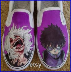 My Hero Academia, Shigaraki and Dabi Shoes