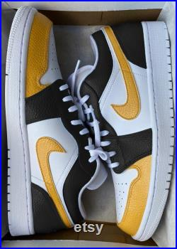 Nike Air Jordan X Black and Yellow Bumblebee Available in Air Force 1