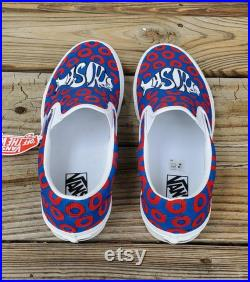 Phish Hand Painted Custom Shoes, Custom Vans, Converse, Toms